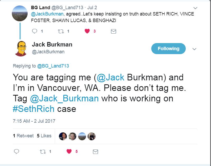 Burkman tweet