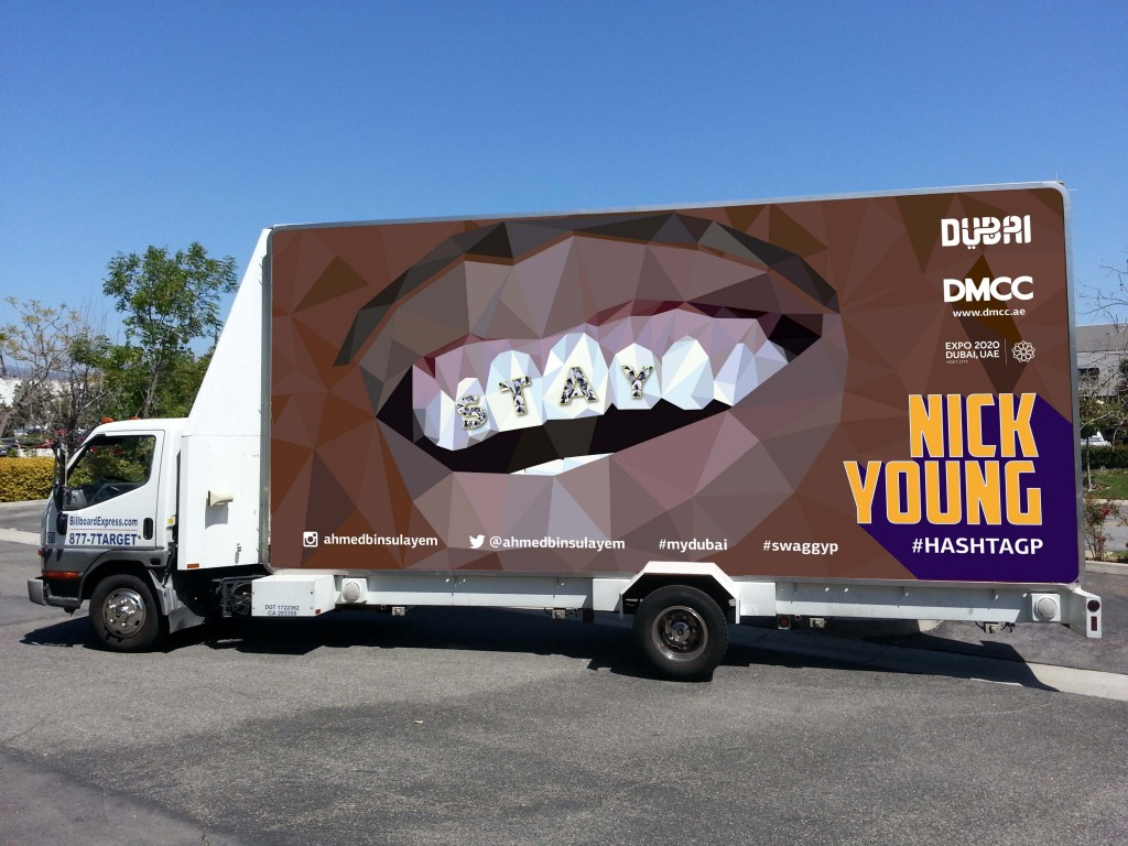 Ad Truck Image 1