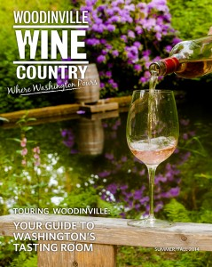 Duval shot this exquisite Woodinville Wine Country summer/fall 2014 issue cover which captures the essence of the area in one shot. Courtesy of Richard Duval.