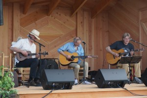Critically-acclaimed finger picking guitarists Mark Hanson, Terry Robb and Doug Smith performed at Moulton Falls Winery's inaugural Guitar Summit two weekends ago. Viki Eierdam
