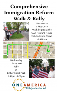 More details about the march and rally on Wednesday, including a map of the route. Click to enlarge.