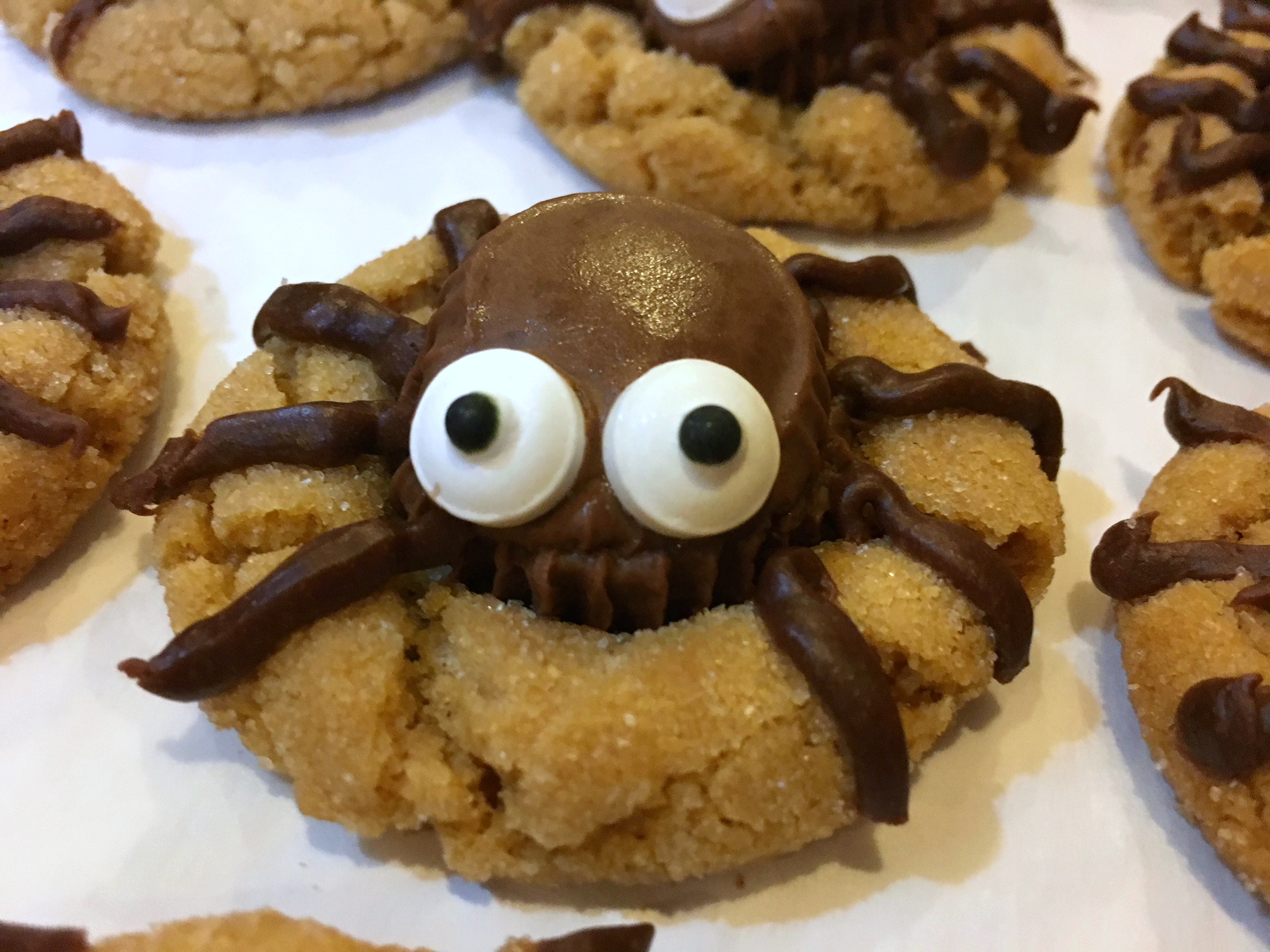 happy halloween these cute little guys make a great addition to a fall bake sale or harvest celebration be sure to allow time to the peanut butter cup in