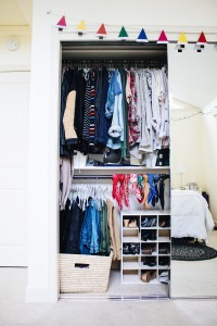 Streamline your style by color-coordinating your closet