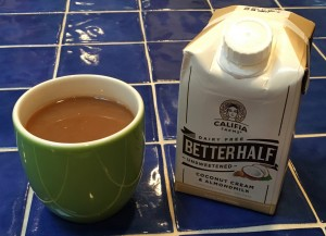 REUNITED AND IT FEELS SO GOOD – Black Coffee and Delish Dairy Free Creamer