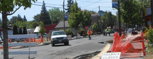 Road Work Continues in Ridgefield
